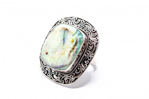 Inel din Argint  cu Opal 0